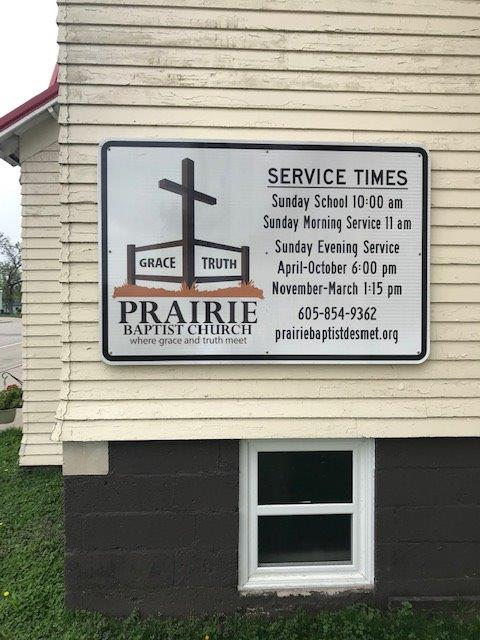 new church sign